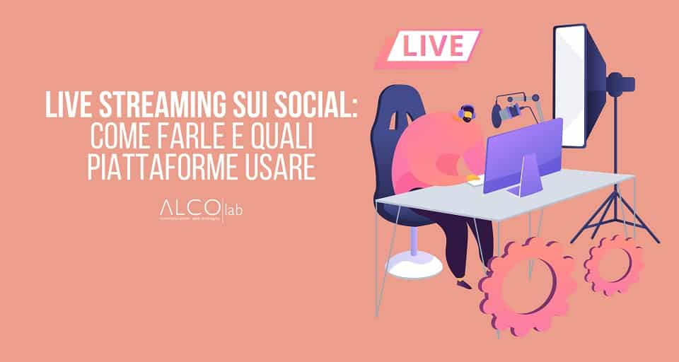 live streaming sui social